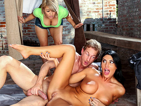 August Ames – Best Way To Fuck When You're Horny – Big Tits, Round Asses – BangBros